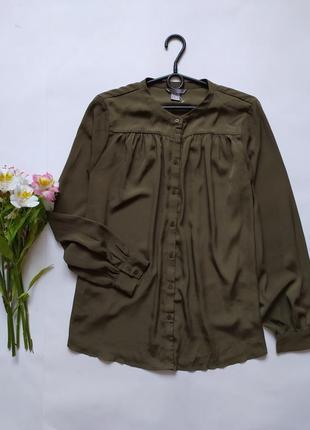 Блуза хаки