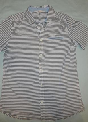 Рубашка модная на мальчика 12-13 лет 158 см от h&m
