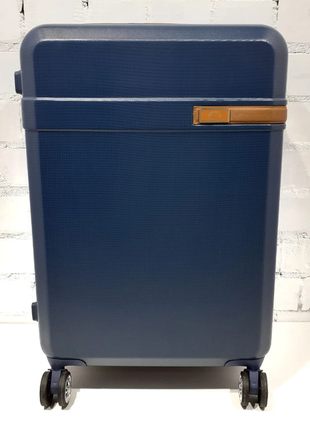 Антиударный пластиковый чемодан airtex 229 a большой размер на 4-х колесах new star