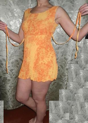 Туника-маечка из вискозы - блузка летняя