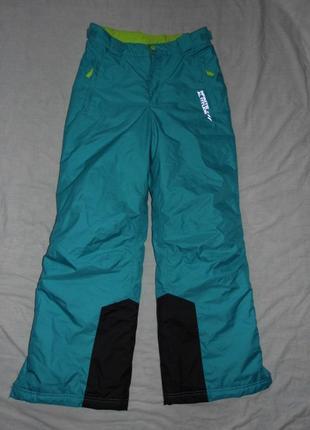 146-152 лыжные штаны y.f.k. 10-12 лет - грмания