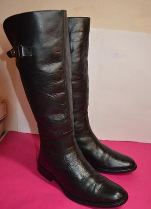 Женские кожаные сапоги  alessia