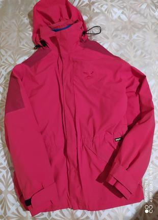 Куртка треккинговая с подкладом salewa на gore-tex