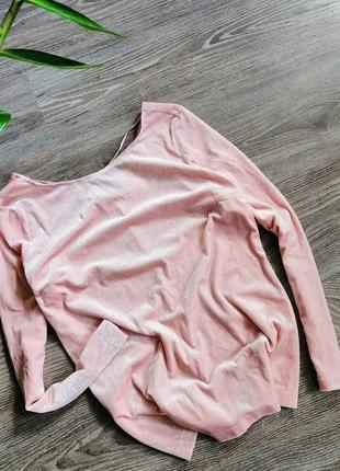 Пуловер блуза вельвет 🍭