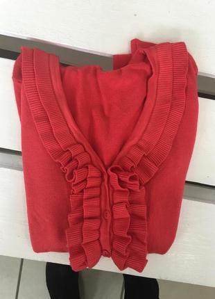 Новый свитер, кофта на пуговицах