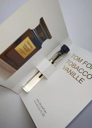 Стойкий! парфюм tom ford tobacco vanille унисекс сексуальные, табак, ваниль
