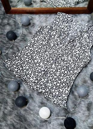 Блузка в сердечки из коттона marks & spencer