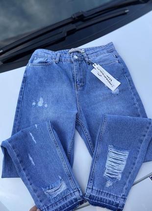 Літні джинси мом4 фото