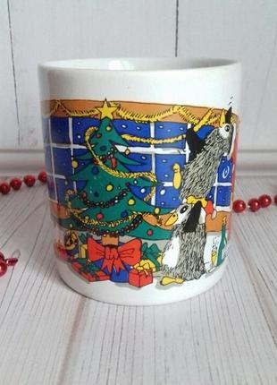 Рождественская чашка на 300мл