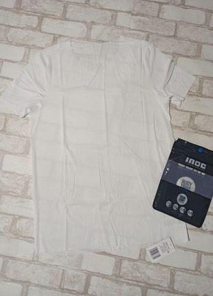 Мужская функциональная тончайшая летняя футболка inoc. размер l, евро 52-54