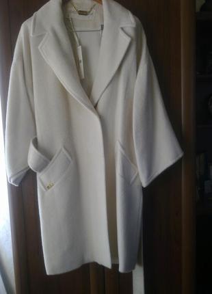 Шикарное пальто из альпаки ф.lasagrada р.48-50