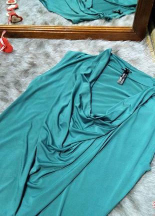 Топ блуза кофточка с воротником хомутом atmosphere