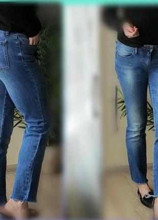 С-м  hugo boss orange джинсы прямые голубые