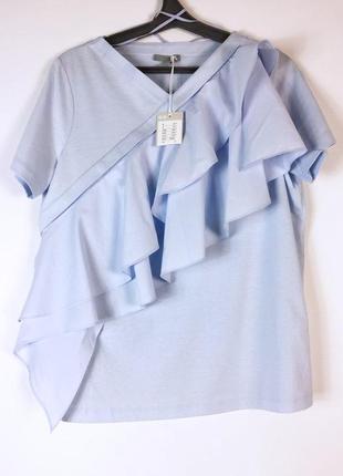Женская красивая футболка блуза
