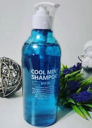 Освежающий шампунь для волос с мятой cp-1 cool mint shampoo - 500 мл