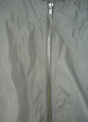 Куртка ветровка из плащевки h&m  размер xs