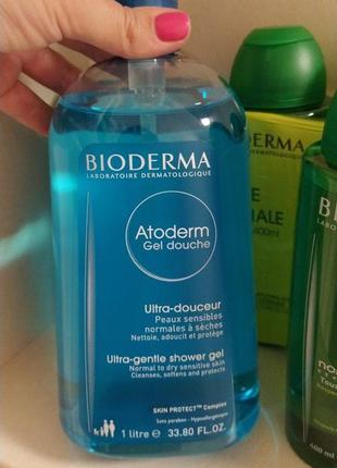 Biodermaatoderm нежный очищающий гель для душа 1 л