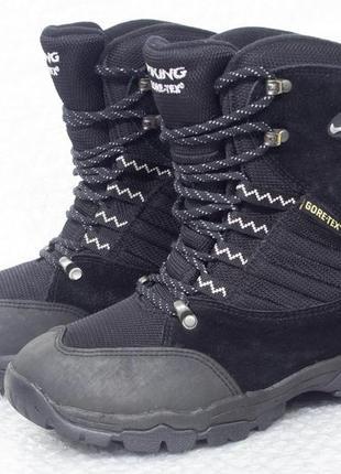 Viking gtx  р 37 - 22,5 см ботинки на подростка зимние