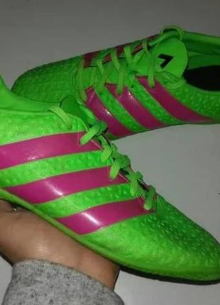 Спортивные кеды, кроссовки для футбола, футзал adidas оригинал, размер 38