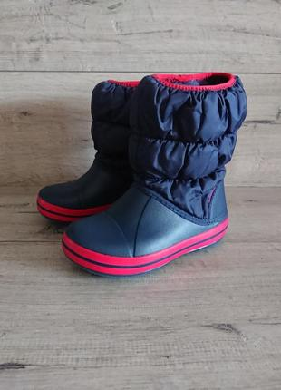 Сапоги крокс crocs kids winter puff boot с 11 28-29р