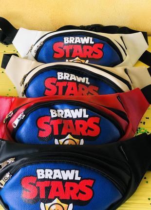 Бананка, барыжка, барсетка, сумка на пояс brawl stars