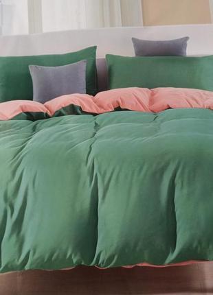 Комплект постельного белья евро, 4 наволочки