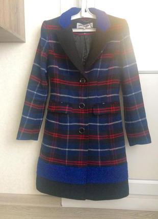 Пальто, яркое и стильное!