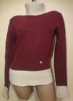 Классный свитер под шею burberry london размер m l