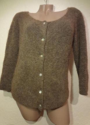 Красивый нежный свитер на пуговицах/кардиган american vintage размер m