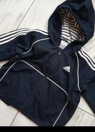 Куртка ветровка оригинал adidas