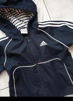 Куртка ветровка оригинал adidas3 фото