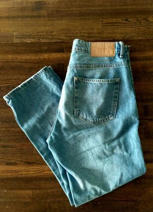 Мом джинсы h&m