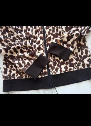 Худи кофта с капюшоном тигровый принт3 фото