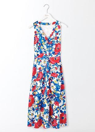 Шикарное платье в цветы boden