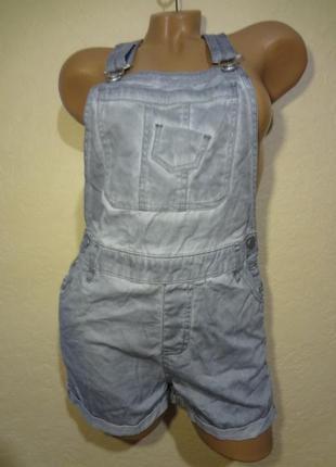 Комбинезон джинсовый jenina размер xs s