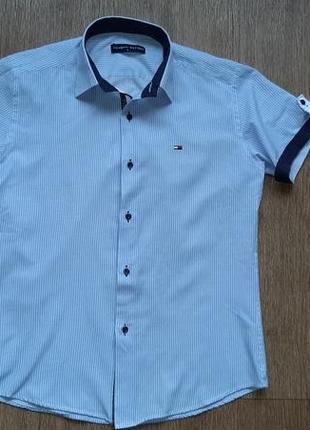 Рубашка мужская летняя с коротким рукавом