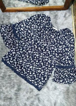Блуза кофточка из натуральной вискозы edc