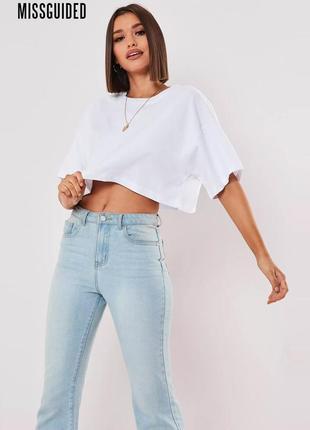 Новая базовая оверсайз белая футболка missguided