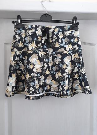 🔥акция🔥 юбка с актуальным принтом bershka