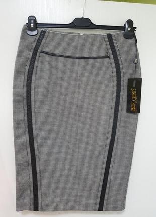 Шикарная базовая офисная юбка
