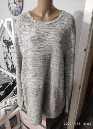 Натуральный хлопковый свитерок от крутого бренда, пог-63
