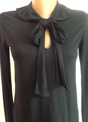 Вискозная оригинальная фирменная итальянская блузка /m/ brend emporio armani