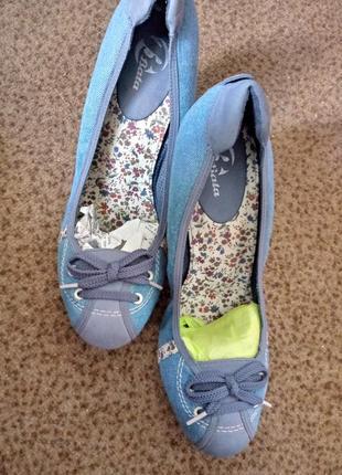 Супер комфортные туфельки bata