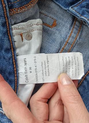 Джинсы calvin klein jeans w30
