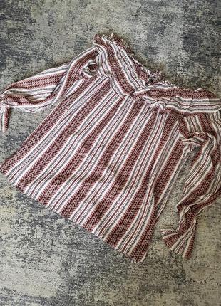 Шикарная блуза на плечи