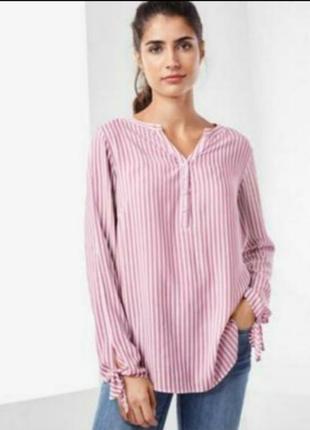 Воздушная блуза из вискозы от бренда tcm tchibo. германия!