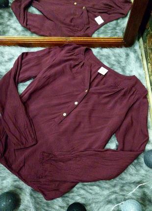 Блуза кофточка из натуральной вискозы vero moda