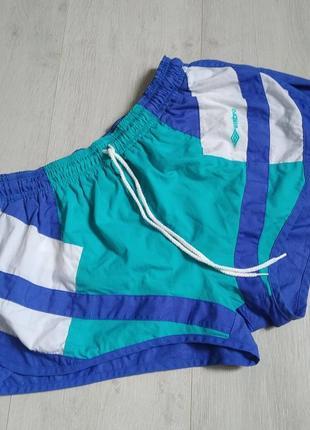 Шорты, спортивные шорты, пляжные шорты, шорты на шнурке, колорблок