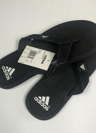 Вьетнамки adidas оригинал 41-42 рр для отдыха черного цвета классический дизайн