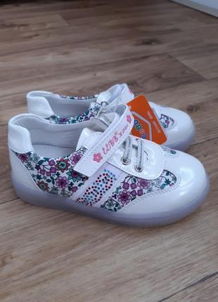 Новые детские кроссовки слипоны